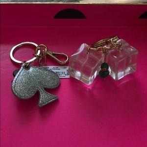Kate Spade Bundle Keychain